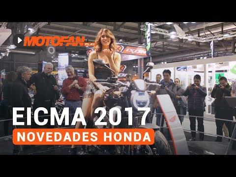 Vídeos de '(VIDEO) Las novedades de Honda en el salón EICMA de Milán 2017'