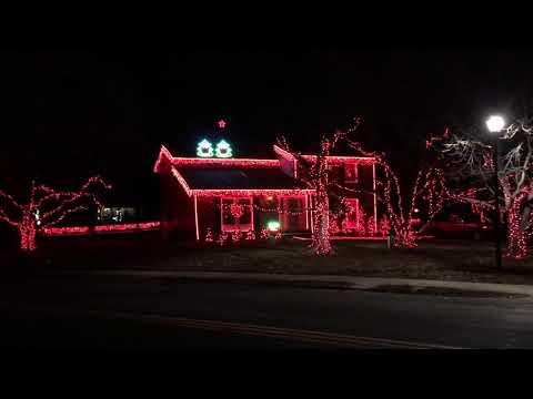 2019 Christmas Light Show , Straight No Chaser - Nutcracker