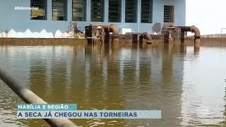 Estiagem deixa moradores sem água em Marília e região