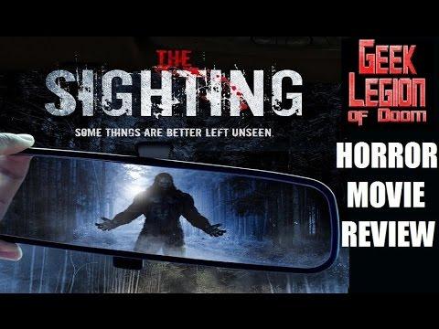 THE SIGHTING ( 2016 Adam Pitman ) aka PAPER DOLLS Horror Movie Review