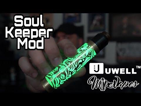Innovation! Uwell Soul Keeper 18650 - 21700 Unregulated Mod