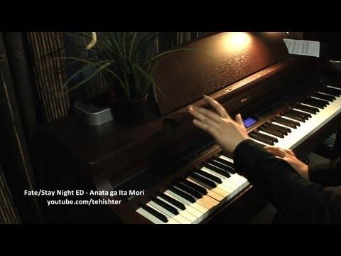 [30k Sub Special #1] Fate/Stay Night ED1 - Anata ga Ita Mori (Piano) (видео)