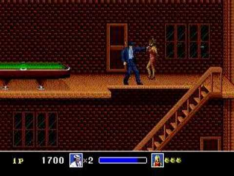 Michael Jackson Funny Moonwalker Video Game