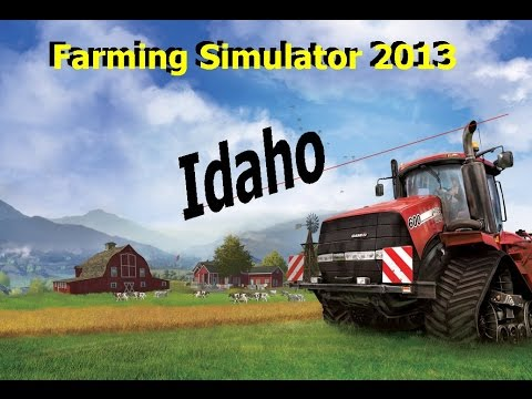 Farming Simulator 2013 Idaho Map Ep 24 Adventues of the starship grass mower