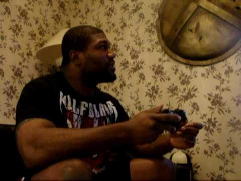 Rampage Talks his upcomming Fight vs Rashard Evans at UFC 114 ATeam Movie