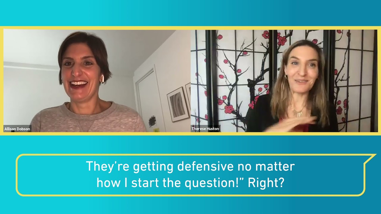 Giving Feedback to Defensive Team Members | Therese Huston, author of LET'S TALK