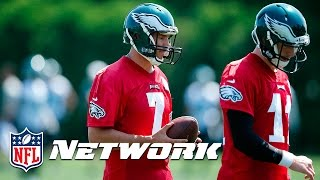 Kurt Warner breaks down Carson Wentz -  Sam Bradford Dynamic | NFL Network by NFL Network