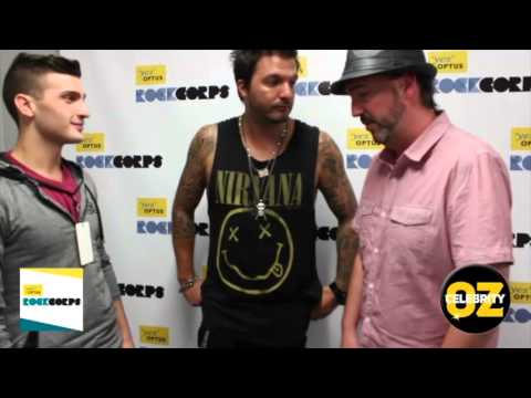 Optus RockCorps Exclusive Interview With The Potbelleez's Jonny Sonic, Dave Goode
