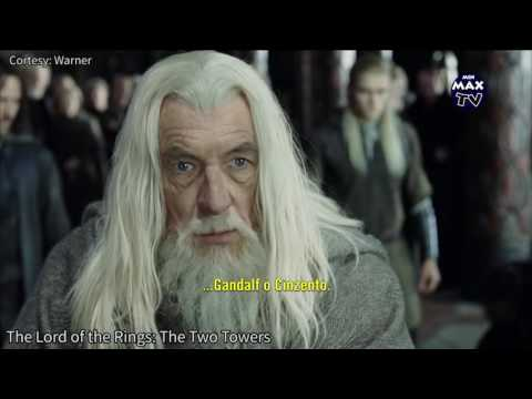 Lord of the Rings: The Two Towers - Gandalf breaks Saruman's spell