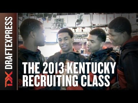 The 2013 Kentucky Recruiting Class - 2013 McDonald's All-American Game