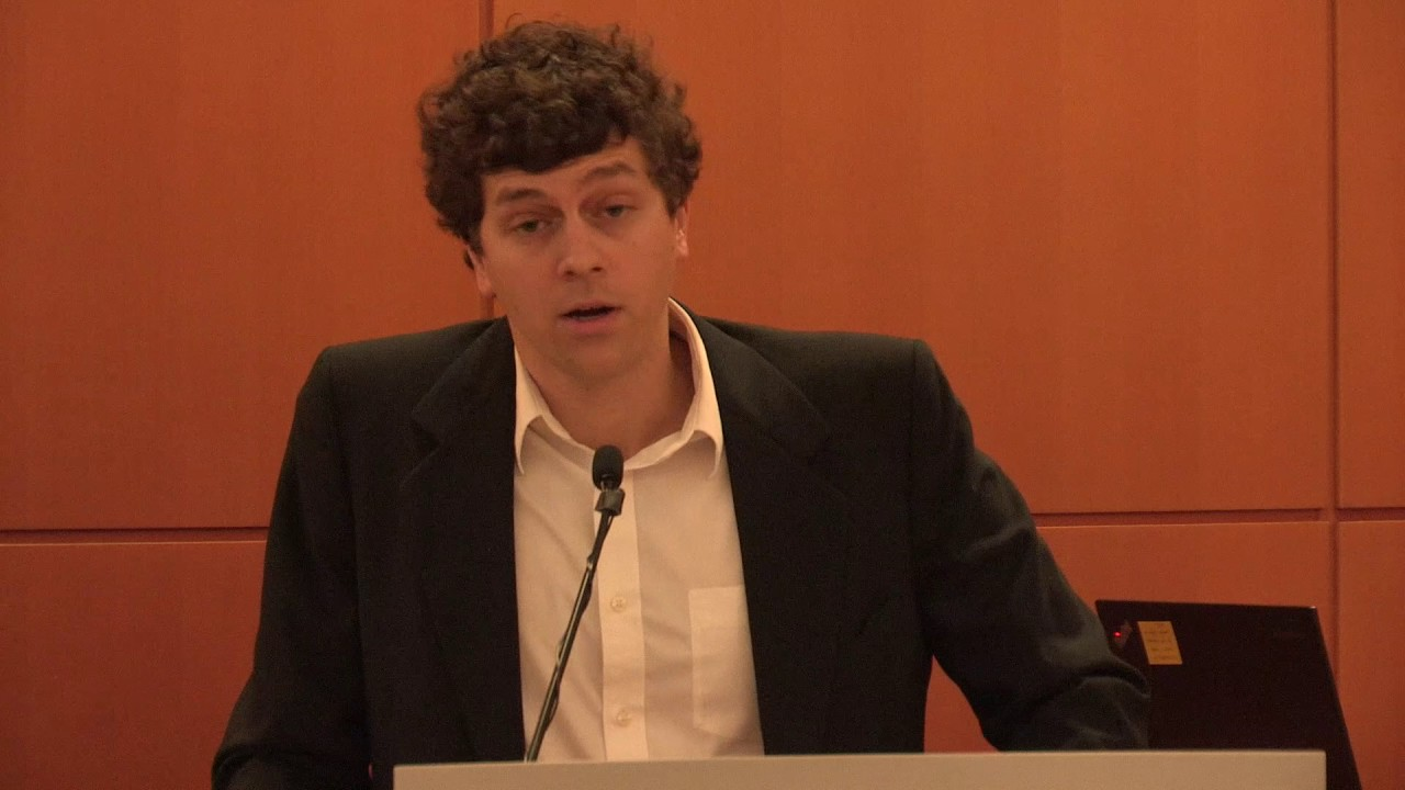 Sam Graham-Felsen, author of GREEN, at the PRH Open Book Event