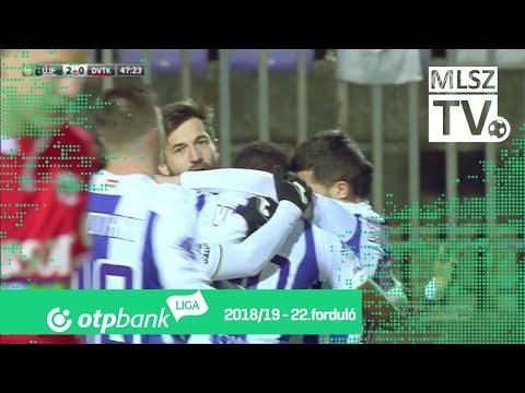22. forduló: Újpest - DVTK 5-0 (1-0)