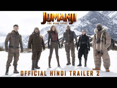 JUMANJI: THE NEXT LEVEL | Official Hindi Trailer-2 | Dwayne Johnson | Kevin Hart | In Cinemas Dec 13