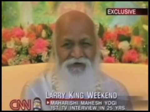 Maharishi e Larry King 4/5