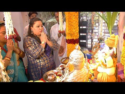Bharti Singh Brings Home Ganpati   Ganesh Chaturth