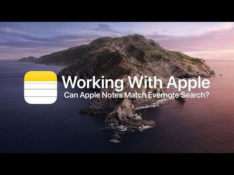 Can Apple Notes match Evernote's Search?