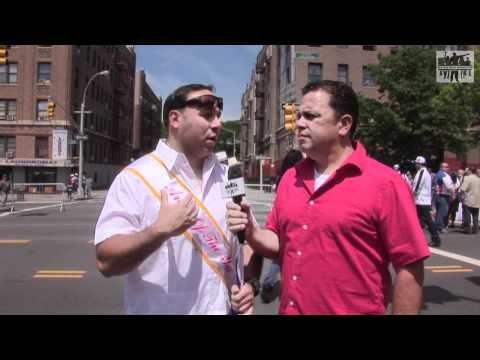 Bronx Puerto Rican Day Parade 2012 (Part 3) Latino Comedian Mark Viera  Mike Robles Latino Comedy
