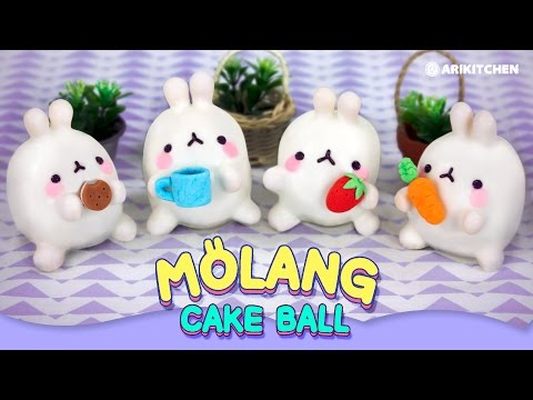 Molang Cake Balls! - Ari Kitchen