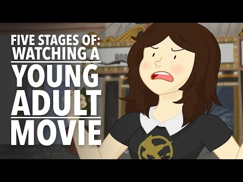 The Five Stages of Watching a Young Adult Movie
