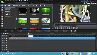 شرح زيادة معدل إضاءة الفيديو وانخفاضه CyberLink PowerDirector R12