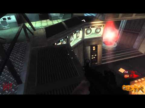 Black Ops Zombie Glitches: Five - On Top Of The Teleporter (After All Patches)