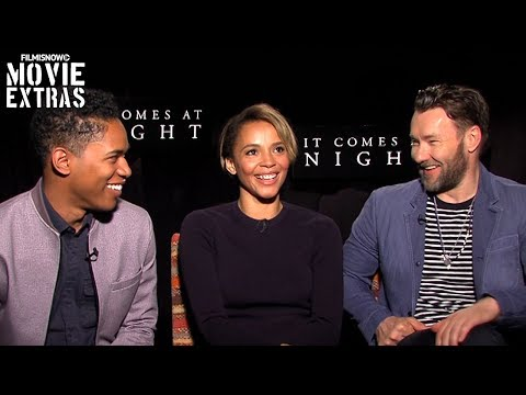 It Comes at Night (2017) Joel Edgerton, Carmen Ejogo & Kelvin Harrison Jr. talk about the movie (видео)