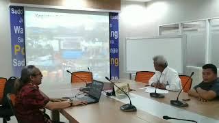 Komunitas Sekolah Sungai Sul Sel Audence BBWS Pompengan Jeneberang