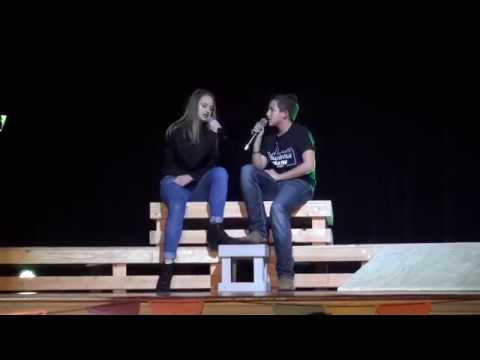 Allison Ortowski And Garrett Baggs - Stay - Collinsville's Got Talent