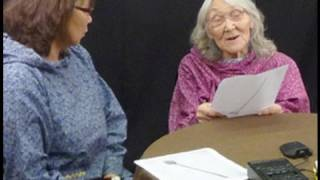 The Alaska Office of the Smithsonian's Arctic Studies Center hosted an Iñupiaq language workshop in January 2011, bringing together eight fluent speakers of ...