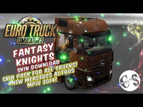 Fantasy Knights Skin Pack for All Trucks