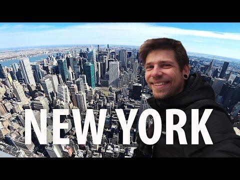 NEW YORK: побывал везде, где хотел!