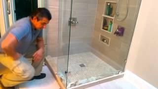 Master shower remodeling design ideas
