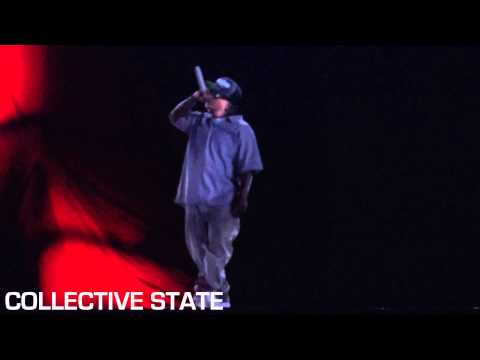hologram performance - HD VIDEO: DJ Yella does the honors of unveiling the anticipated Eazy-E hologram alongside Bone Thugs-N-Harmony at Rock The Bells 2013. Once the smoke cleared...