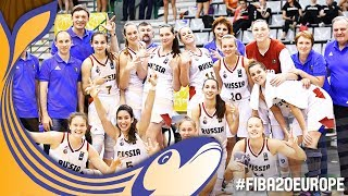 Re-watch the Third-Place Game Russia v France at the FIBA U20 Women's European Championship 2017. ▻▻ Subscribe: http://fiba.com/subYT Click here for ...