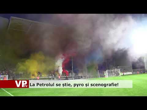 La Petrolul se știe, pyro și scenografie!
