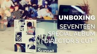[Ktown4u Unboxing]: Seventeen - Special Album [DIRECTOR'S CUT']