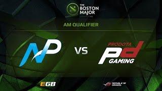 Team NP vs Prodota Gaming, Boston Major AM Qualifiers