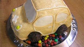 Торт Машинка