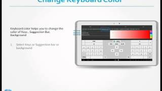 Adaptxt Tablet Keyboard - Free YouTube video