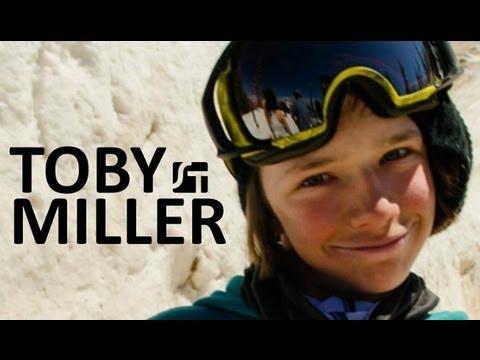 Toby Miller, una promesa del snowboard con solo 13 años