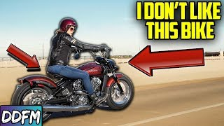 3. The 2020 Indian Scout Bobber Twenty Is...Meh