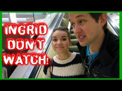 INGRID - Previous vlog! http://youtu.be/tb3Xz7c9y7A Watch Ingrid get me presents! http://youtu.be/jbvOt3HUg3g Our t-shirts: http://districtlines.com/luke-and-ingrid (...