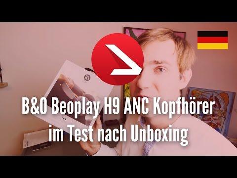 B&O Beoplay H9 ANC Kopfhörer im Test nach Unboxing
