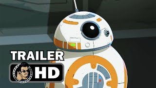 STAR WARS RESISTANCE Official Trailer (HD) Disney Animated Series by Joblo TV Trailers