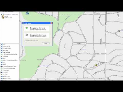 Garmin BaseCamp for PC: Routes