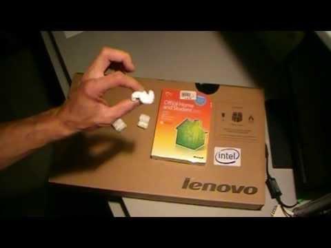 UnBoxing Lenovo G700