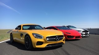 2016 Mercedes-Benz AMG GT S On Track by MilesPerHr