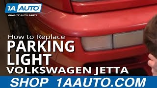 Nonton How To Install Replace Front Signal Light Volkswagen VW Jetta 93-98 1AAuto.com Film Subtitle Indonesia Streaming Movie Download