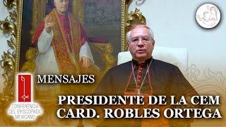 Mensaje de bienvenida a Papa Francisco