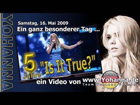 """Yohanna """"Is It True?"""" – zum fünften Jahrestag eines hinreißenden Auftritts"""